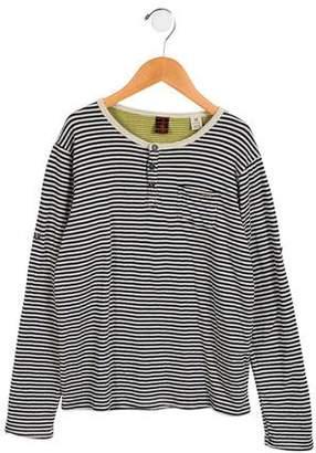 Scotch Shrunk Boys' Striped Knit Shirt
