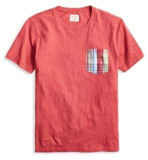 Brooks Brothers Red Fleece Contrast Pocket Cotton Tee