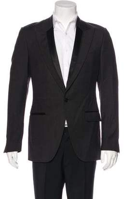 Dolce & Gabbana Satin-Trimmed Tuxedo Blazer