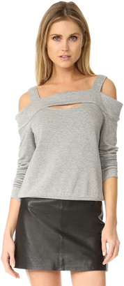 Bailey44 Ground Swell Sweatshirt $148 thestylecure.com