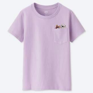 Uniqlo WOMEN Celebrate Mickey Short Sleeve Graphic T-Shirt