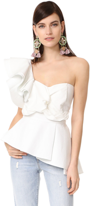 STYLEKEEPERS So Long Lover Ruffled Top $118 thestylecure.com