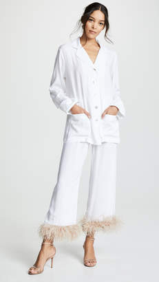 Sleeper White Pajama Suit