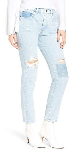 Levi's(R) Made & Crafted(TM) Twig II High Waist Ankle Slim Jeans