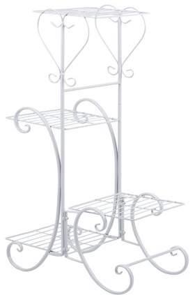 TurdyIsa Wrought Iron 4 Layers Flower Pot Plant Stand Holder Rack Display Shelf