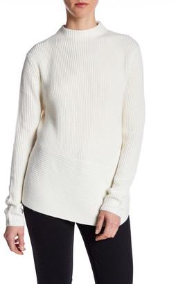 BOSS HUGO BOSS Mock Neck Knit Pullover $285 thestylecure.com