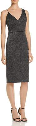 Aqua Metallic Knit Dress - 100% Exclusive