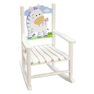 Teamson Kids Safari Rocking Chair-Zebra