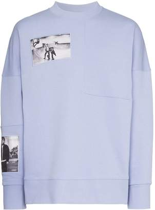 Tony Hawk Signature Line X Corbijn Graphic Prints Crew Neck Sweatshirt