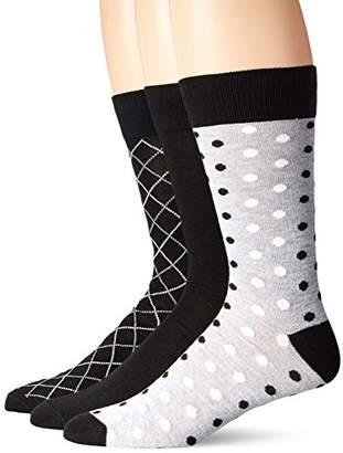 Hanes Ultimate Men's 3-Pack X-Temp Crew Knit Dress Socks