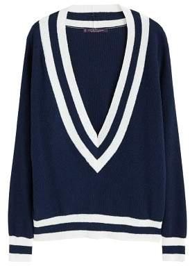 Violeta BY MANGO Contrast-edge sweater