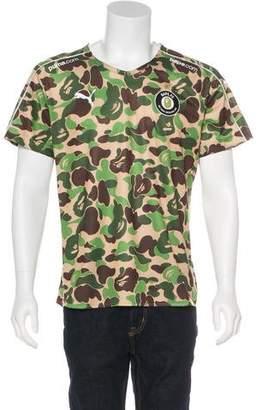 Puma x Bape Camouflage Soccer Jersey