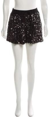 3.1 Phillip Lim silk Sequin Shorts