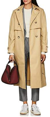 BEIGE LES COYOTES DE PARIS Women's Celeste Cotton Trench Coat - Beige, Tan