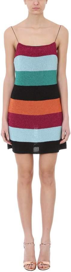 Multicolor Lurex Dress