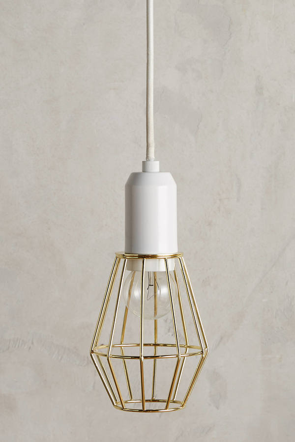 AnthropologieAnthropologie Caged Pendant