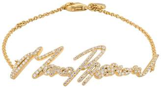 Stephen Webster Yellow Gold and Pavé Diamond More Passion Bracelet