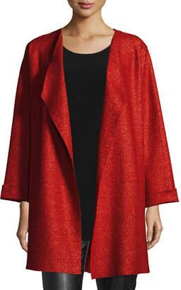Caroline Rose Lana Fantasia Topper Coat, Plus Size $225 thestylecure.com