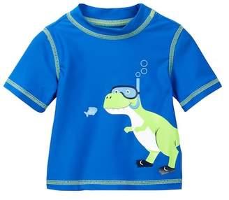 Little Me Dino Rashguard Suit (Baby Boys)