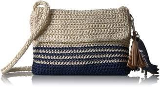 Sakroots Byron Crochet Flap Crossbody