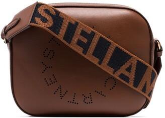 Stella McCartney logo strap cross-body bag