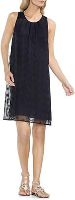 Vince Camuto Sleeveless Embroidered Shift Dress