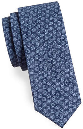 HAIGHT AND ASHBURY Small Paisley Cotton Tie