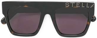 Stella McCartney logo studded sunglasses