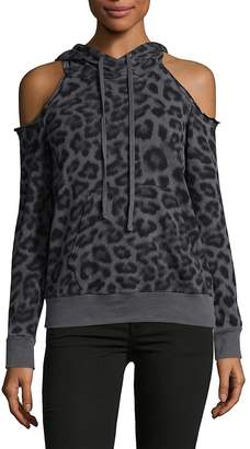 Ella Moss Women's Leopard Hoodie