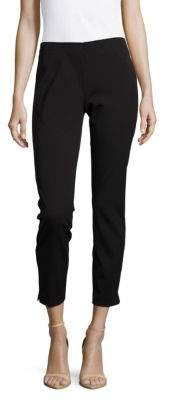 Saks Fifth Avenue BLACK Solid Cropped Pants