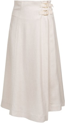 A Line Clothing Wrap Skirt