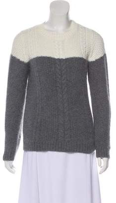 Band Of Outsiders Angora Crew Neck Sweater