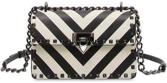 Valentino Rockstud Striped Bag