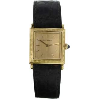 Boucheron Yellow Gold Watch