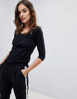 Sisley Rouched Fitted Top