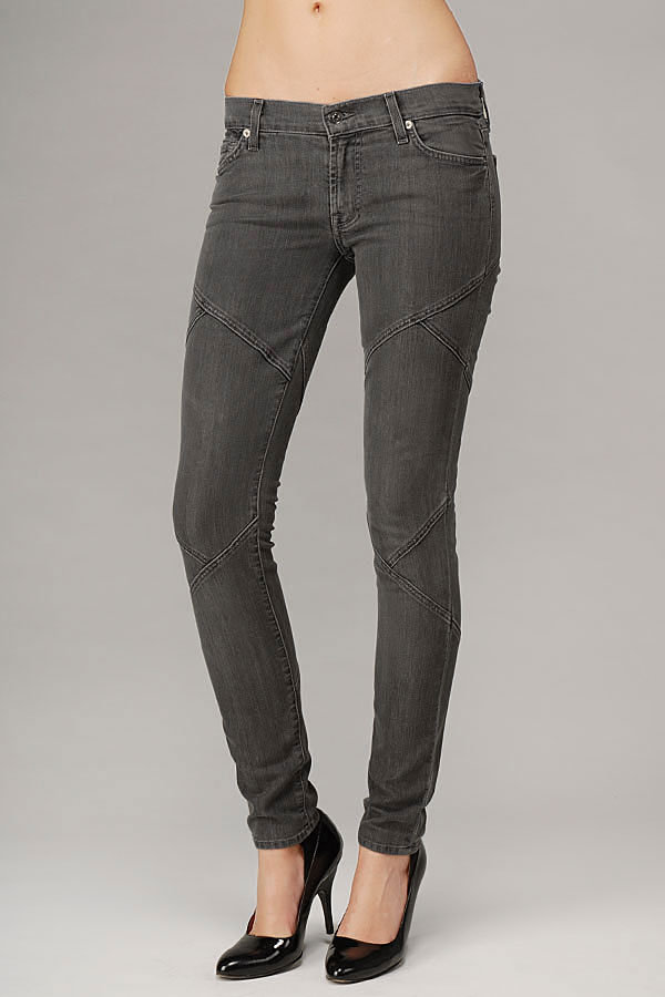 Gia Seamed Jean In Dark Tailor Grey