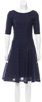 Christian Dior Knee-Length Embroidered Dress $805 thestylecure.com
