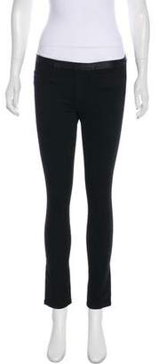 Helmut Lang Mid-Rise Denim Leggings w/ Tags