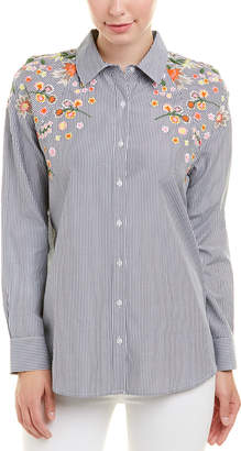 Tolani Embroidered Estrel Top