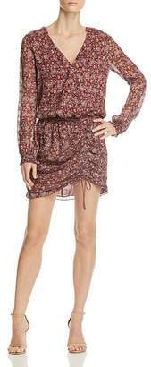 Ramy Brook Vina Floral Silk Dress