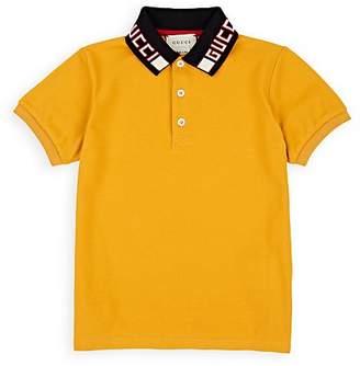 Gucci Kids' Cotton Polo Shirt