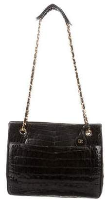 50963ddfd0ff Pre-Owned at TheRealReal · Chanel Alligator Tote