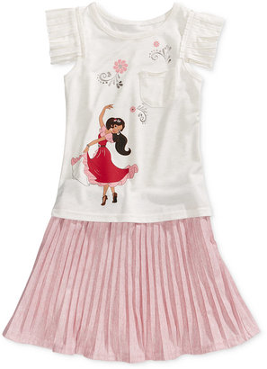 Disney's® Princess Elena 2-Pc. Top & Skirt Set, Toddler & Little Girls (2T-6X) $38 thestylecure.com