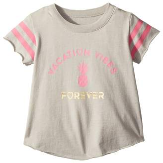 Chaser Kids Super Soft Vacation Vibes Tee Girl's T Shirt