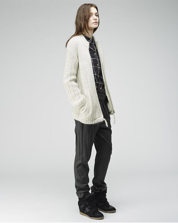 Etoile Isabel Marant garland mohair jacket