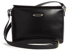 Lanvin Cube Mini Leather Shoulder Bag $1,695 thestylecure.com