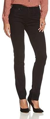Cross Women's P 489-055 Straight Leg Jeans - Black