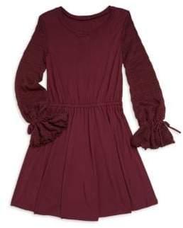 Splendid Girl's Long-Sleeve Sweater Dress