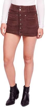 Free People Joanie Corduroy Miniskirt