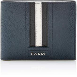 Bally Stripe Leather Wallet